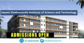 SVIST - Swami Vivekananda Institute of Science & Tec...