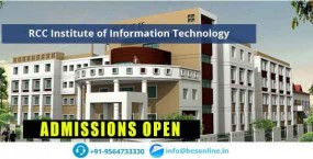 RCC Institute of Information Technology (RCCIIT)