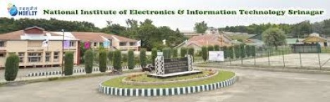 NIELIT Srinagar - National Institute of Electronics ...
