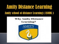 Amity School of Distance Learning