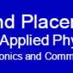 J. K. Institute of Applied Physics and Technology, A...