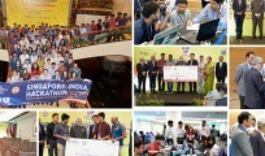 IIT Madras to Host Second Edition of Singapore India Hackathon